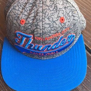 OKC Thunder Basketball Cap